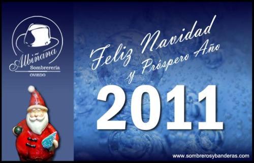 Feliz 2011 - Sombrerería Albiñana
