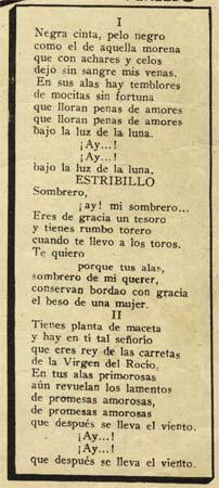 letra de la cancion coleccion de: