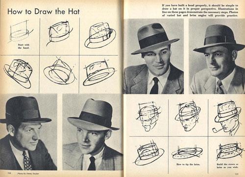 Dibujo de Sombreros