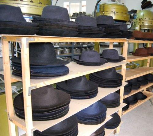 Proceso de secado del Sombrero