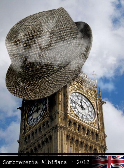 Sombrereria Albiñana en Inglaterra