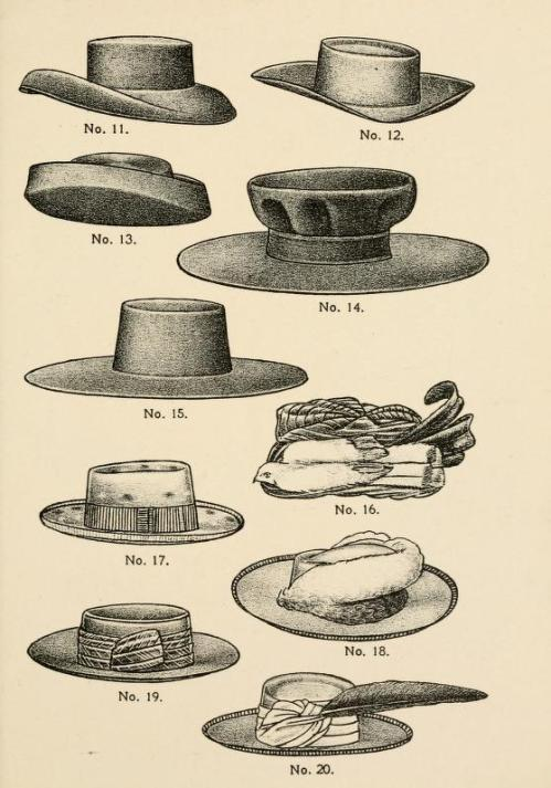 Moda en sombreros
