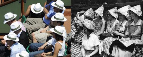 Sombreros para ir al Tenis