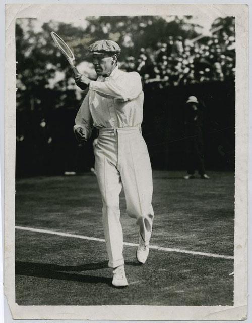 Otro Tenista de principios de siglo XX
