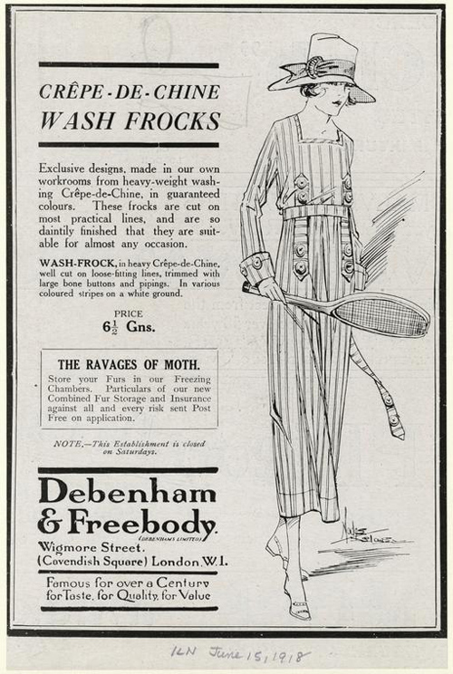 Anuncio Tenis 1918