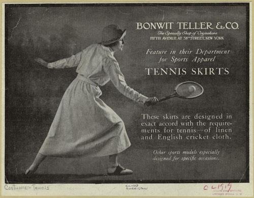 Anuncio de Tenis de 1919