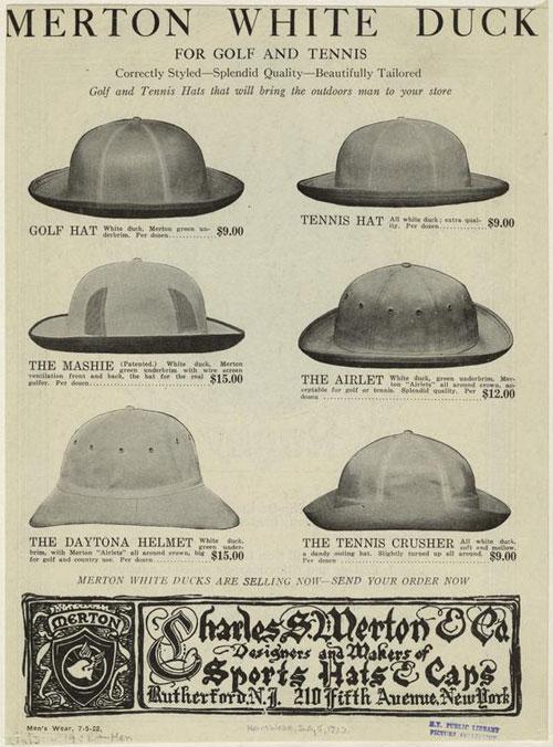 Sombreros para Tenis