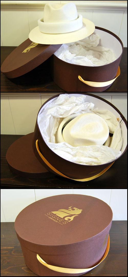 Guardar un Sombrero Panama