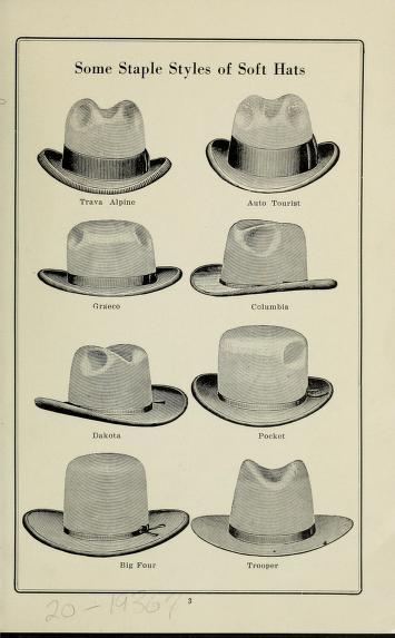 limpieza de un sombrero