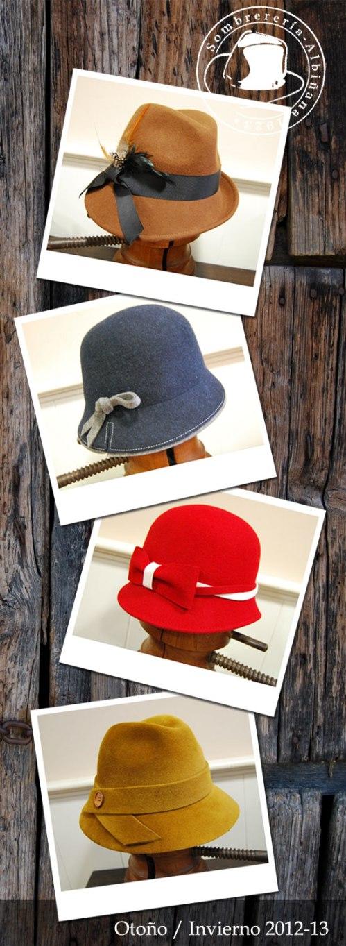 sombreros para otoño