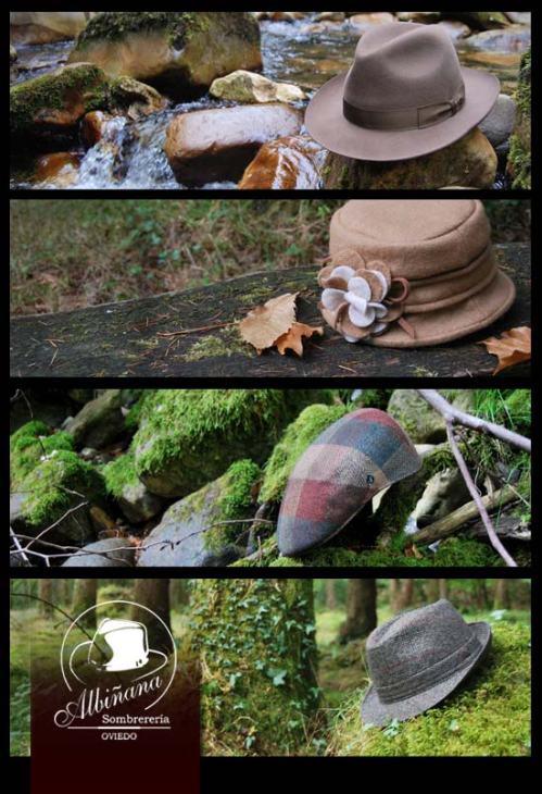 Sombreros para el Otoño en Sombrerería Albiñana