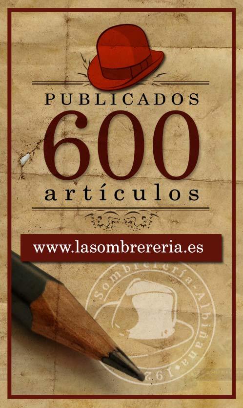 600 artículos publicados en Albiñana