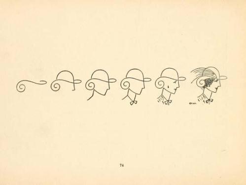 Dibujos y Sombreros - 1868