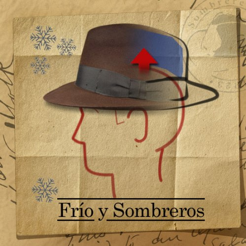 Frío y Sombreros