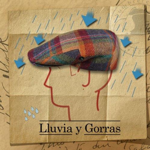 Lluvia y gorras
