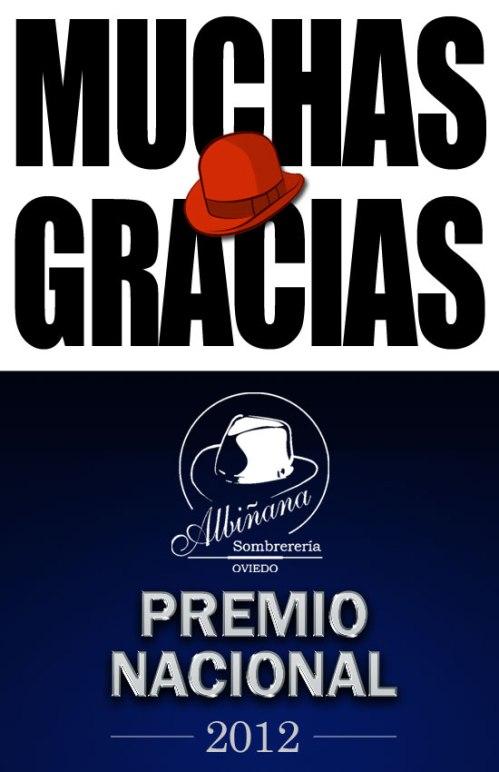 Sombrerería Albiñana Premio Nacional de Comercio