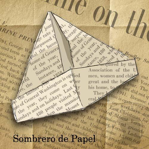 Sombreros de Papel (Paper Hats) | La Sombrereria