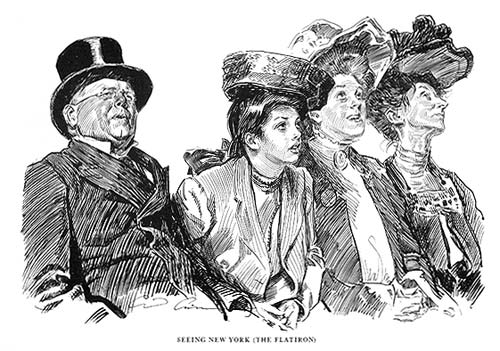 Ilustración de Charles Dana Gibson (1867-1944)