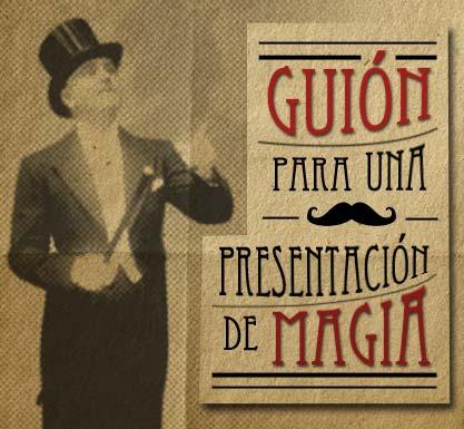 guión para una presentación de magia