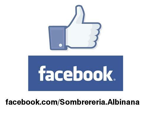 Sombrereria Albiñana en Facebook
