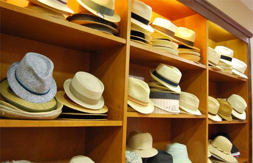 Sombreros en Sombrereria Albiñana