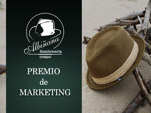 Sombrerería Albiñana Premio de Marketing