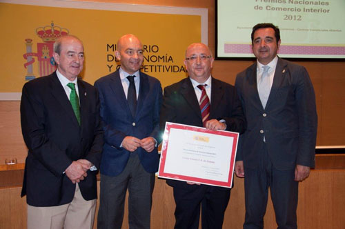 Autoridades Premio Nacional de Comercio