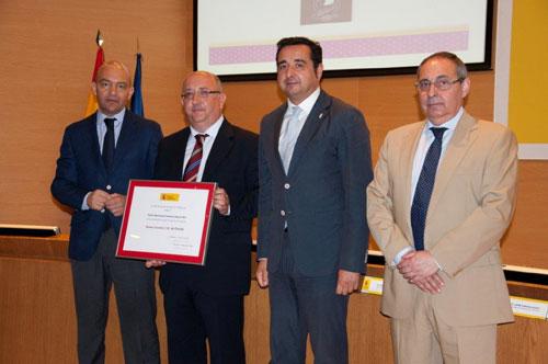 Entrega del Premio Nacional de Comercio