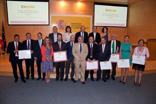 Premiados y Accésit en la Convocatoria de 2012