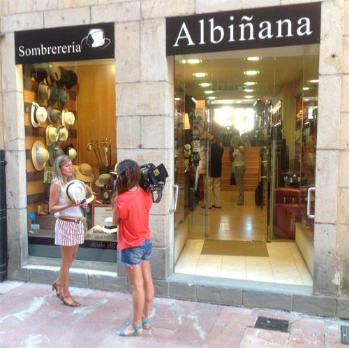Sombrerería Albiñana en la Televisión