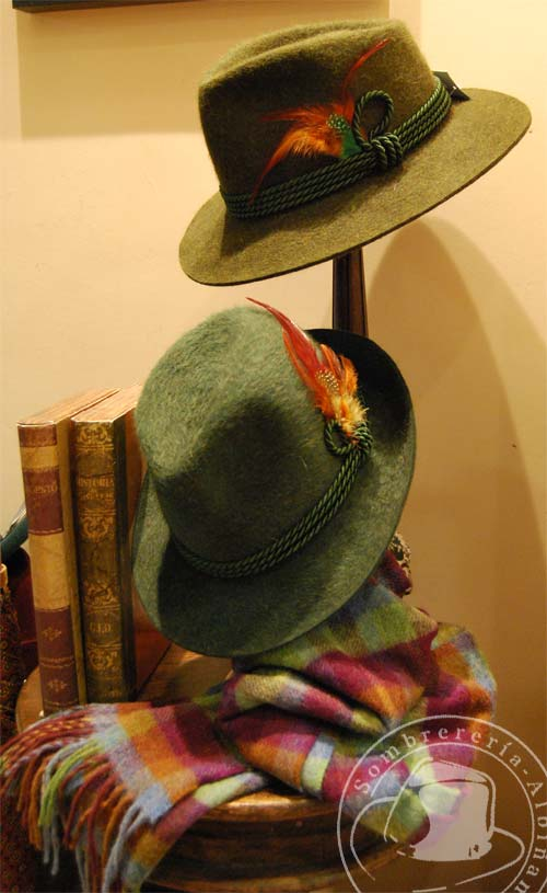 Sombreros de invierno