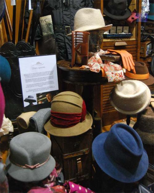 Sombreros de Charo Iglesias
