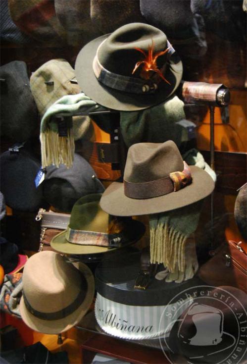 Sombreros para el otoño