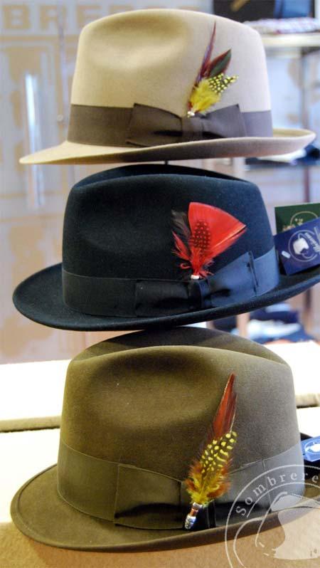 62387eb08501d Plumas para Sombrero de Sombrerería Albiñana