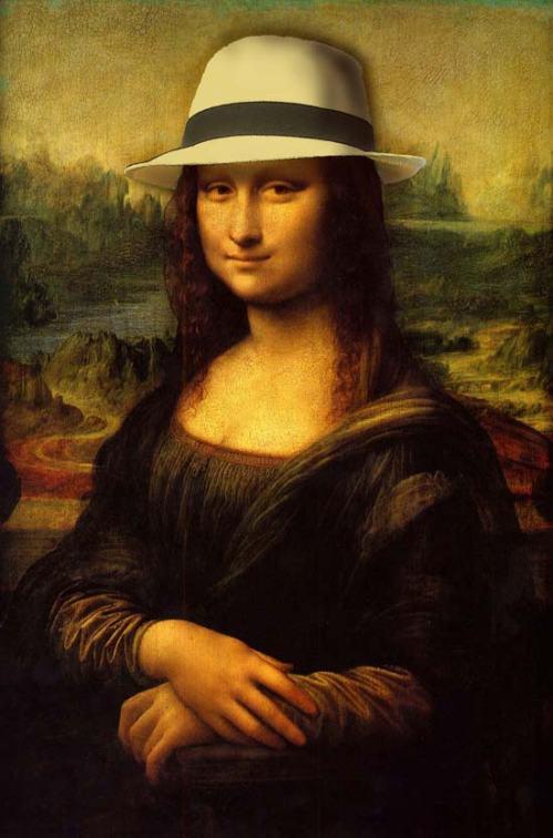 Gioconda con Sombrero