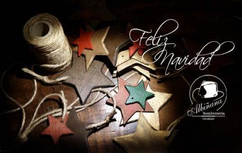Navidad en Sombrerería Albiñana