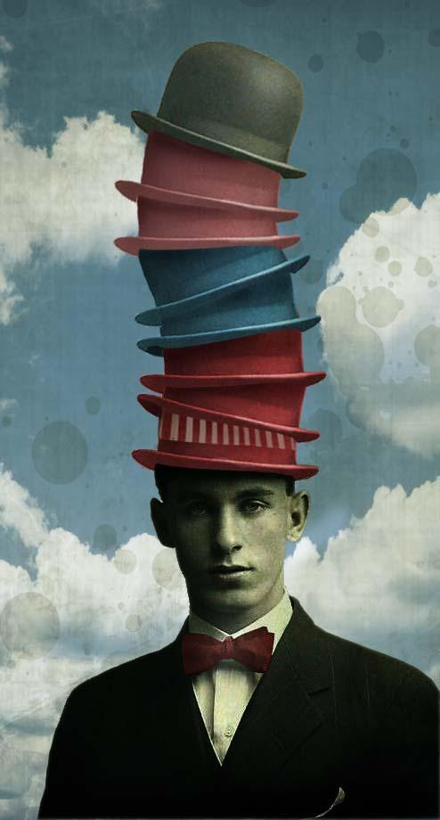 El vendedor de sombreros